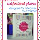 6th Grade Teacher & Lesson Planner Editable with Common Co