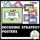 7 Decoding Strategy Posters