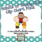 7 Habits Clip Chart FREEBIE