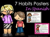 7 Habits Posters In Spanish