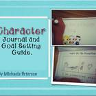 Character Journal and Goal Setting Guide