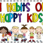 7 Habits of Happy Kids Poster Set