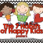 7 Habits of Happy Kids Posters