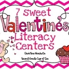 7 Sweet Valentine&#039;s Day Literacy Centers {Second Grade Cup