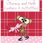 7 Valentine&#039;s Day Math and Literacy Centers and Activities