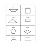 7 geometry activities pack (card game, scavenger hunt, more)