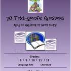 70 Text-Specific Questions for Any Book/Story!