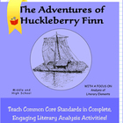7202 Adventures of Huckleberry Finn - Complete Literature Unit