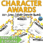 75+ Character Awards