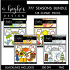 777 4 Seasons Bundle {Graphics for Commercial Use}