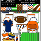 777 Football 1 Bundle {Graphics for Commercial Use}