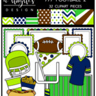 777 Football 2 Bundle {Graphics for Commercial Use}