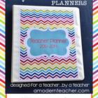 7th& 8th Grade Teacher & Lesson Planner Editable w/Common