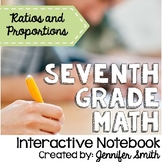 Seventh Grade Interactive Notebook Unit- Ratios and Propor