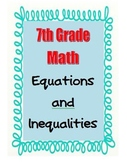 7th Grade Math 2-Step Equations and Inequalities (Prerequi