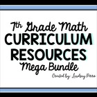 7th Grade Math Mega Bundle of Resources
