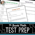 7th Grade Middle School Math Assessment Skills Review
