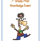 7th Grade Prior Knowledge Exam