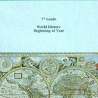 7th Grade World History Year Long Lessons and Exams