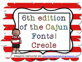 7th edition of Cajun Font-Creole