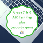 7th grade reading OAA Jeopardy review