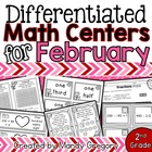 8 February Math Centers with Differentiation