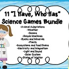"9 ""I Have, Who Has"" Science Games"