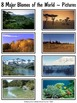 8 Major Biomes of the World {13 pages including a quiz wit