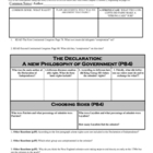 8.1.2 Declaration of Independence Worksheet Graphic Organi