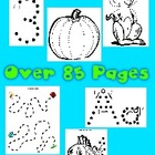 85 + Pages of Dot to Dot Printables - Huge Variety of Fine