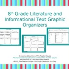8th Grade Common Core Reading Graphic Organizers