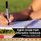 8th Grade Interactive Notebook Bundle- All Standards