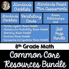 8th Grade Math Common Core Complete Resource Bundle