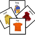 91 Clothing Photo PECS. Printable Communication Cards. Aut