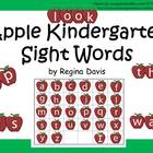 A+ Apple Kindergarten Sight Words