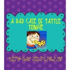 A Bad Case of Tattle Tongue Activity Packet