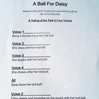 A Ball For Daisy (c) Reader&#039;s Theater Script