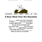 A Bear Went Over the Mountain
