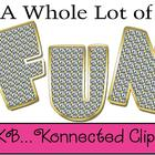 A Bit of Bling Uppercase Alphabet - CU OK!
