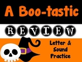 A Boo-tastic Review: Letter & Sound Practice