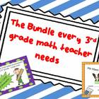 A Bundle Every 3rd grade Math teacher NEEDS for End of the