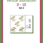 A Bundle - Subtraction 0-10 vertical