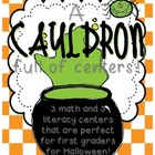 A Cauldron Full of Centers {Halloween Math & Literacy Cent