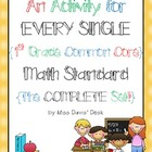 A Center for EVERY 1st Grade MATH Standard {Bundle Pack}