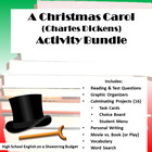 A Christmas Carol Activities Bundle (Charles Dickens)- PDF