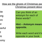 A Christmas Carol - Comparing the Ghosts