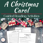 A Christmas Carol - Guided Reading Activities and Background Info