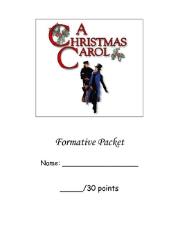 A Christmas Carol Packet