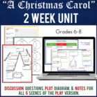 """A Christmas Carol"" - PowerPoint, Cornell Notes & More!  ("