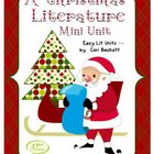 A Christmas Literature Mini Unit